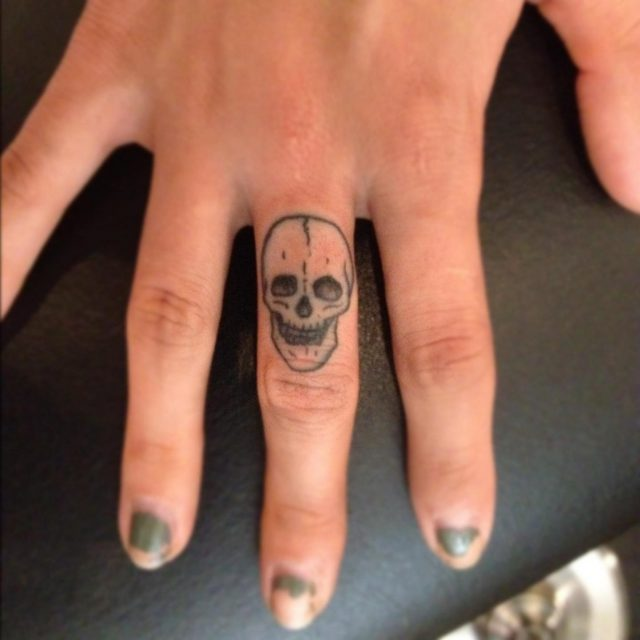 Finger Tattoos 1