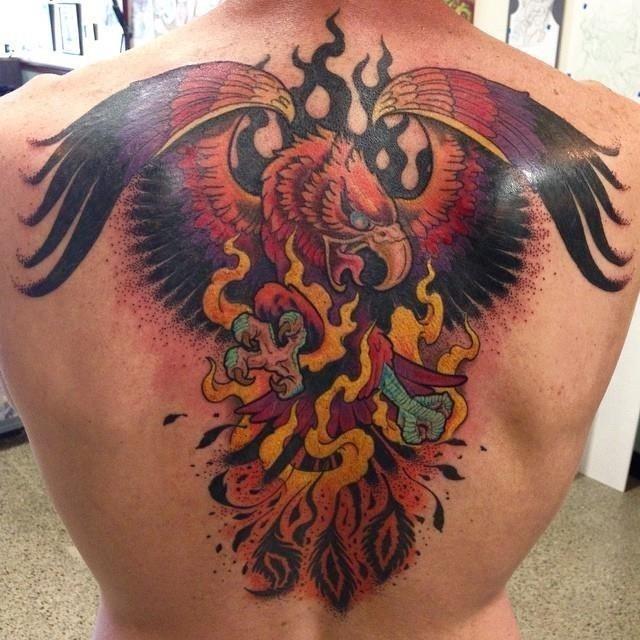 Flame tattoo 21