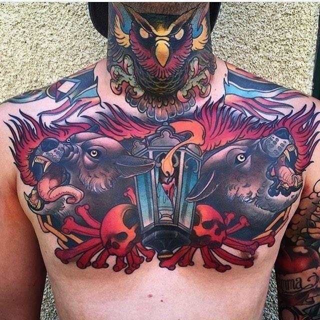 Flame tattoo 44