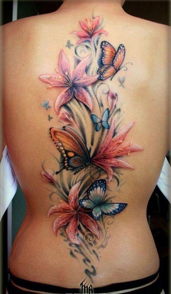 Flower tattoos 02