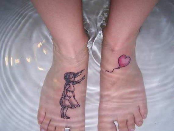 Foot tattoos 3