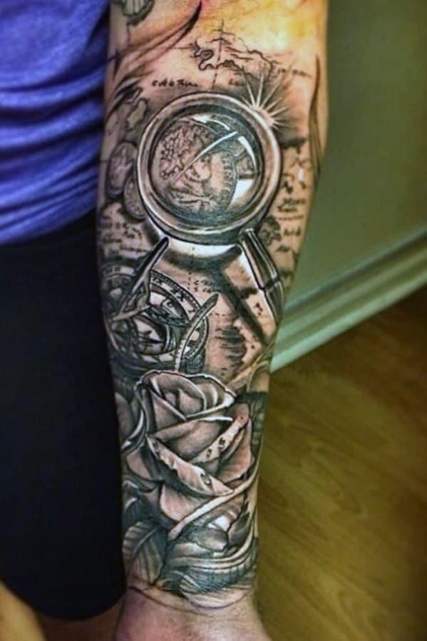 Forearm sleeve tattoo designs