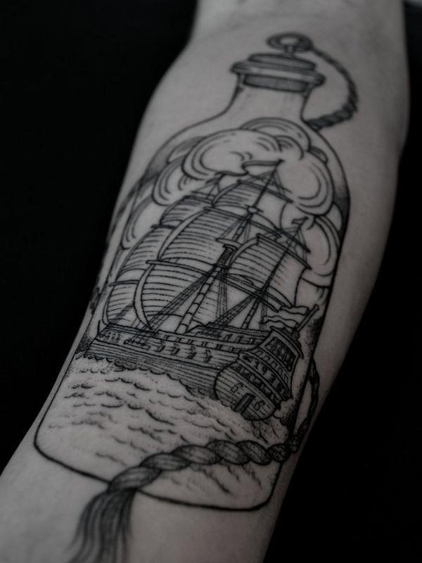 Forearm tattoo 23