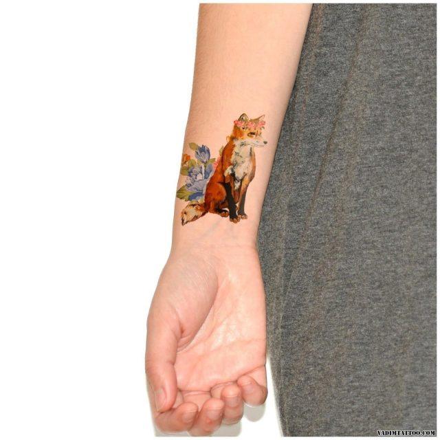 Fox tattoo designs 05