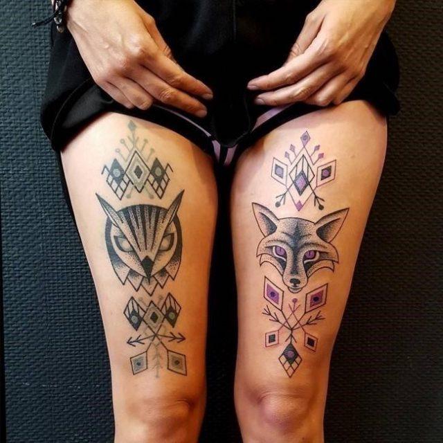 Fox tattoo16 650×650