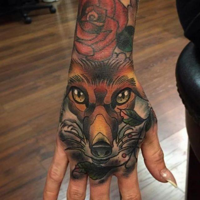 Fox tattoo46 650×650