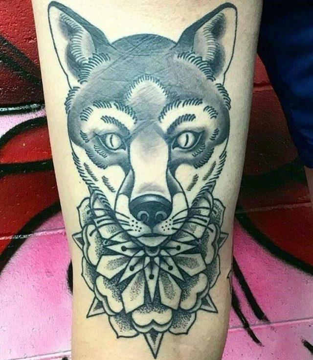 Fox tattoo  26