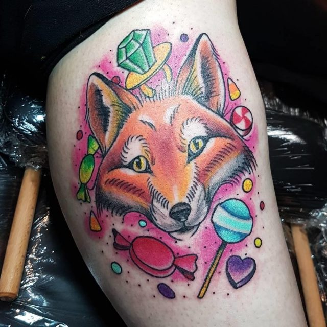 Fox tattoo  31