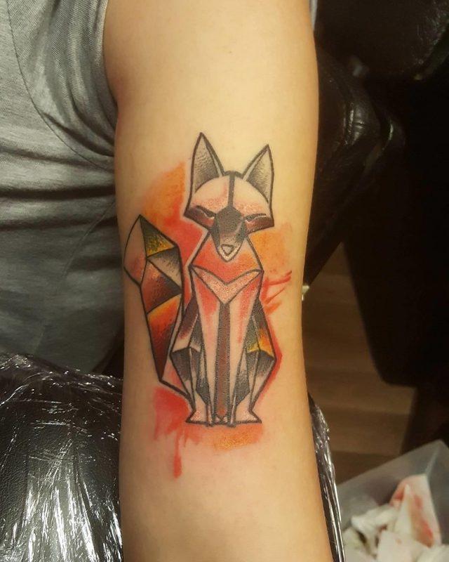 Fox tattoo  45