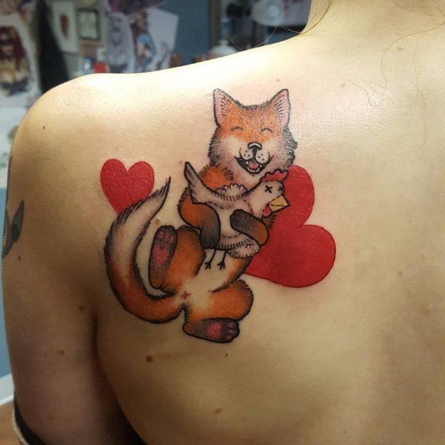 Fox tattoo  48