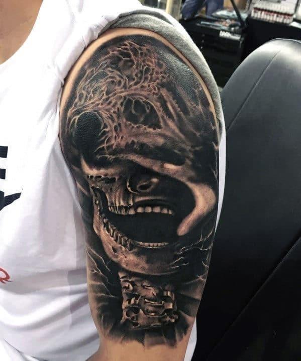 Full arm sleeve tattoos for men