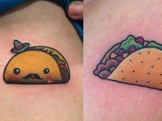 Funny food tattoo designs ideas 700×525