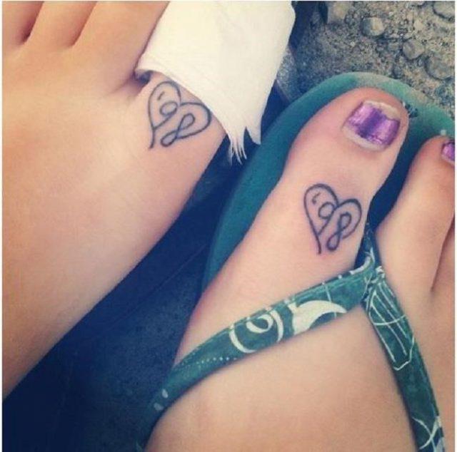 Funny matching tattoos 11
