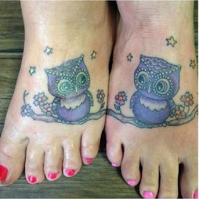 Funny matching tattoos 8