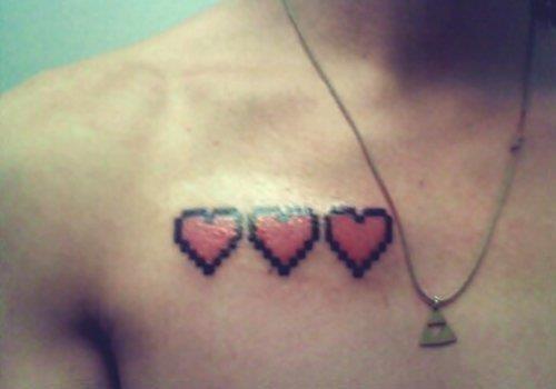 Game heart tattoo zelda Favim