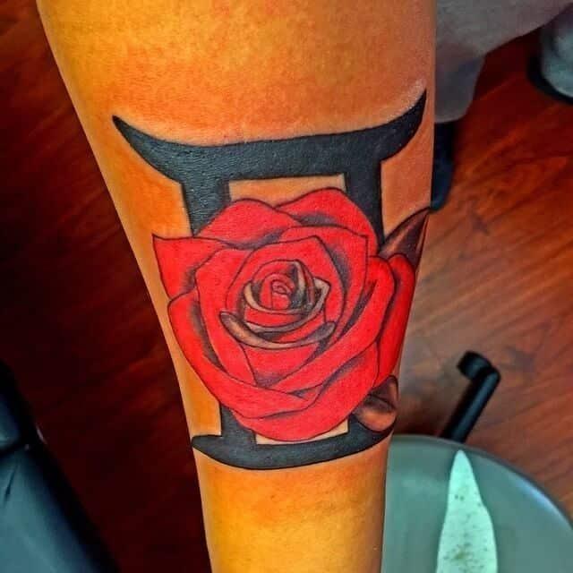 Gemini tattoos 14