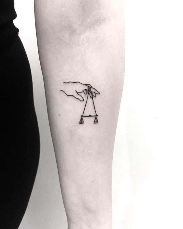 Gorgeous Libra tattoo ideas ourmindfullife