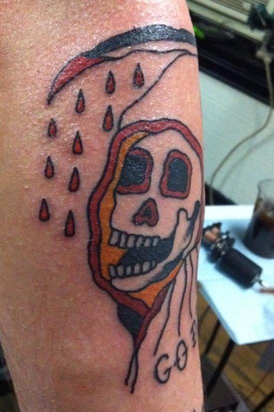 Grim reaper tattoo 17
