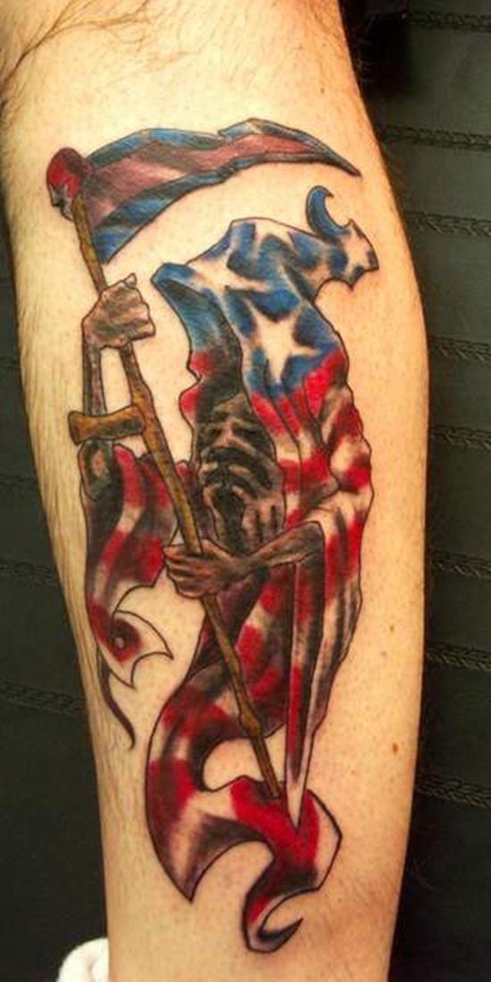 Grim reaper tattoo 25