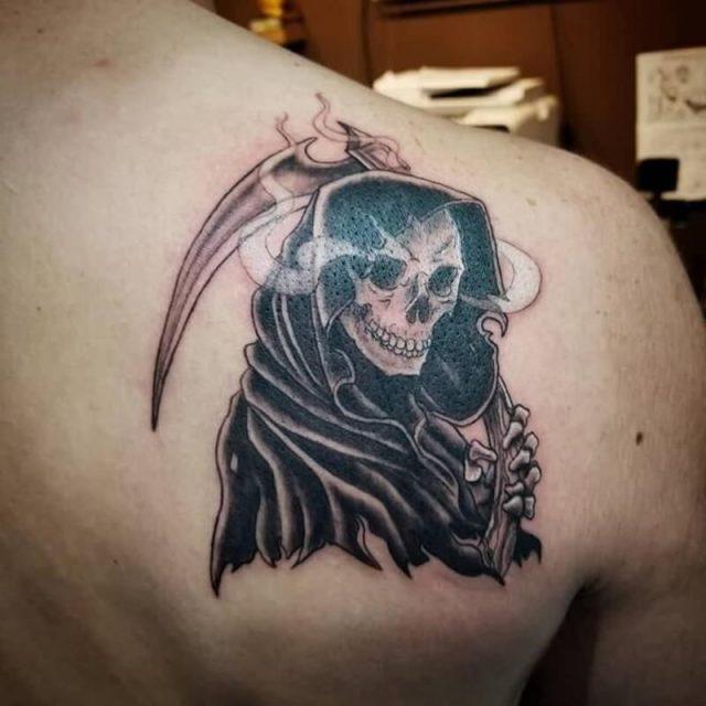Grim reaper tattoos 020819131