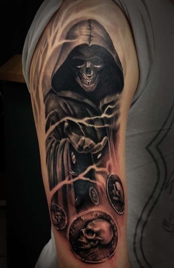 Grim reaper tattoos 32