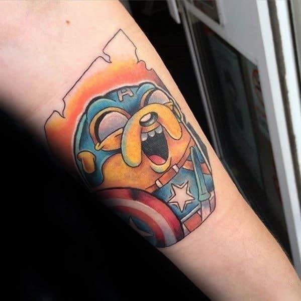 Guys adventure time tattoo design ideas
