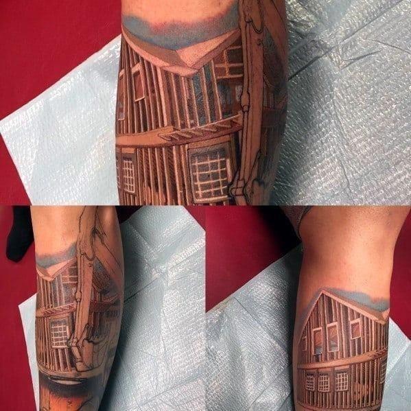 Guys carpenter tattoos