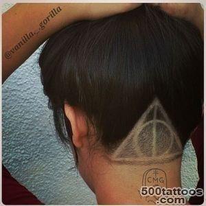 Hair tattoo 2484