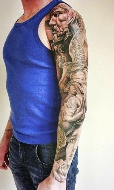 Half sleeve tattoo ideas for men