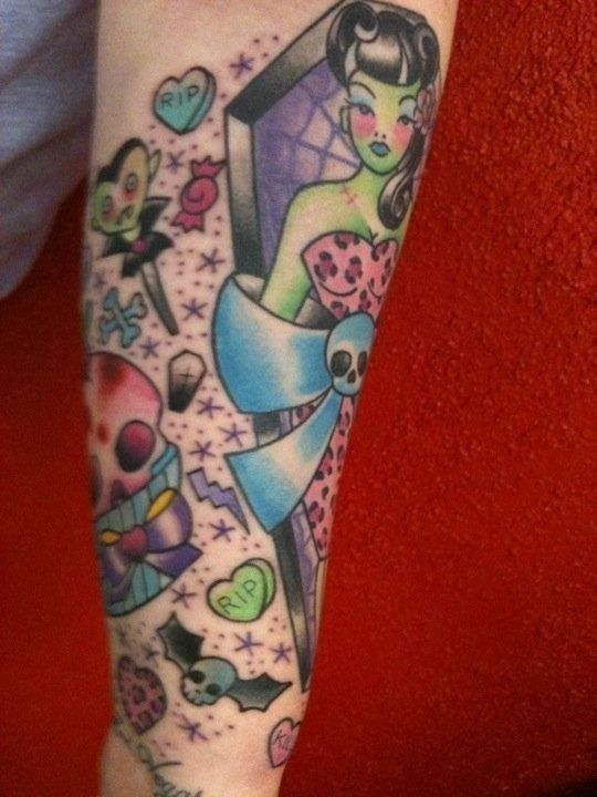 Halloween tattoo 038
