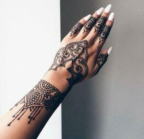 Hand henna tattoo designs27