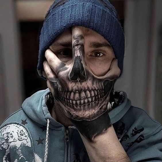 Hand tattoo 14