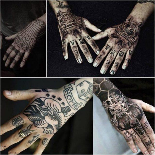 Hand tattoos for men hand tattoos hand tattoo ideas