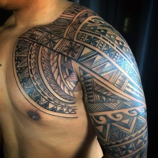 Hawaiian tattoo symbols for men
