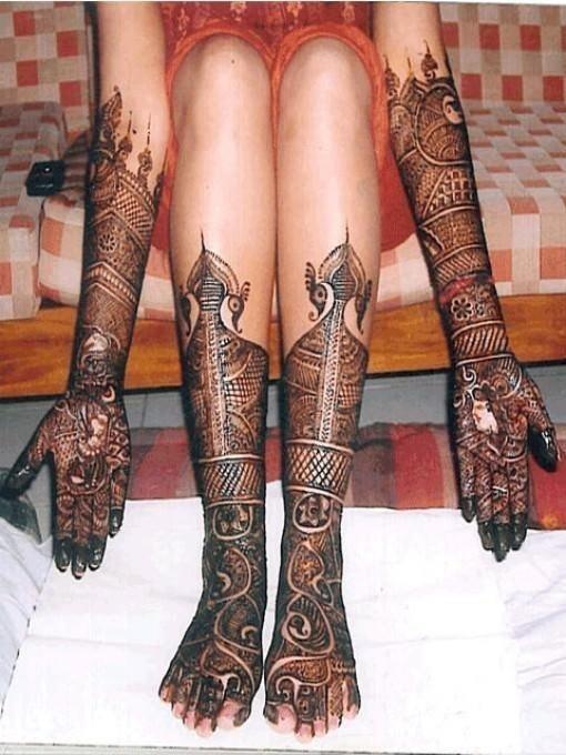Henna tattoo designs 11