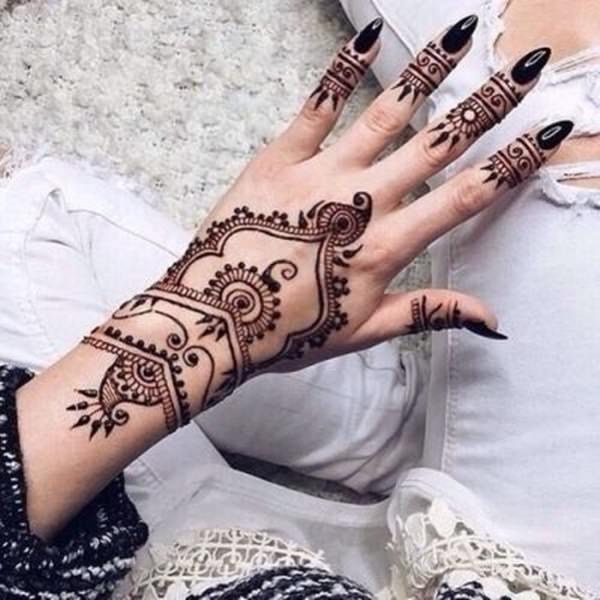Henna tattoo designs 141