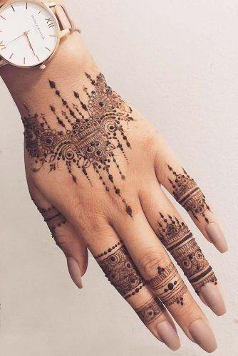 Henna tattoo designs arm flowers 334×500