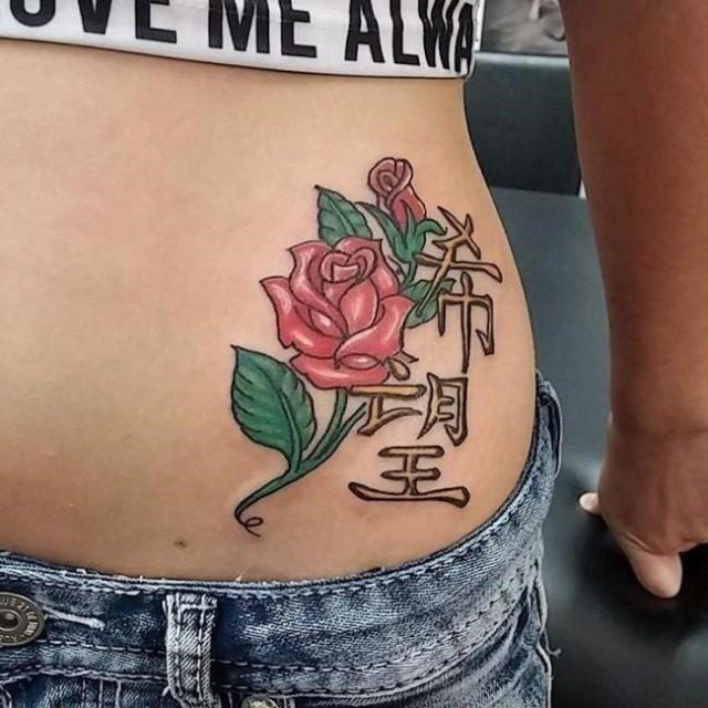 Hip tattoo 17 650×650