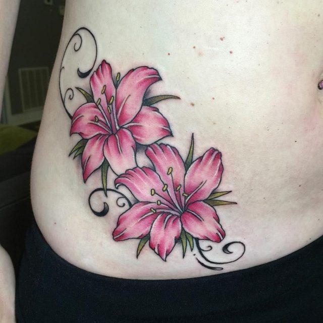 Hip tattoo 2