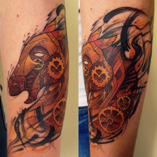 Horse tattoo 32