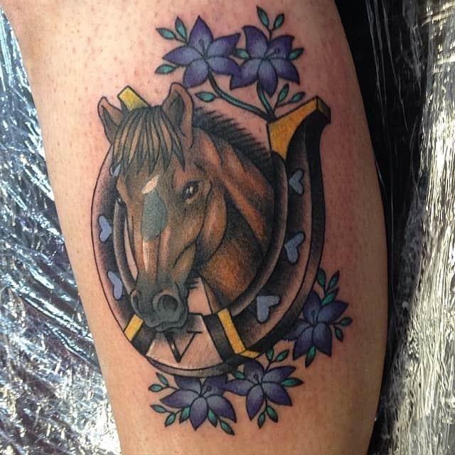Horse tattoo 41
