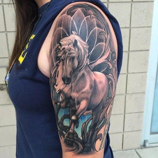 Horse tattoo 49
