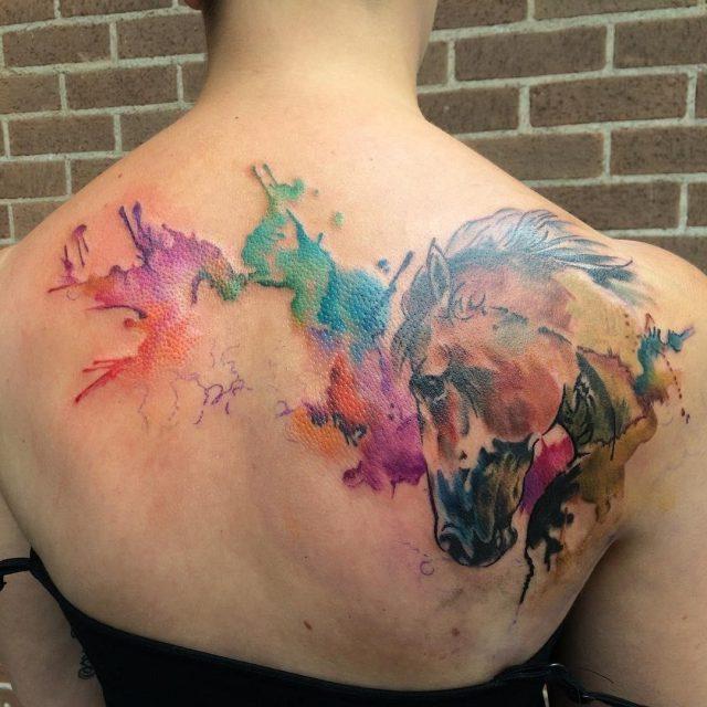 Horse tattoo 52