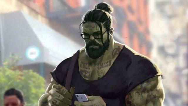 Hulk professor tattoo marvel uhdpaper