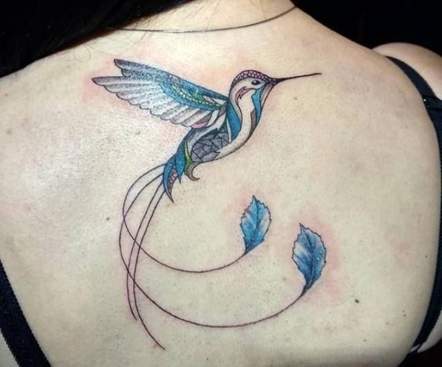 Hummingbird tattoo 25