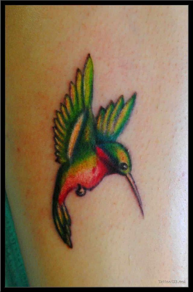 Hummingbird tattoos 11