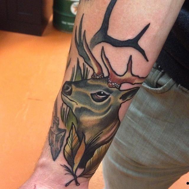 Hunting tattoo 14