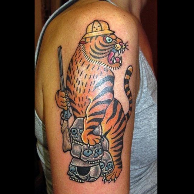 Hunting tattoo 15