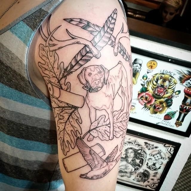Hunting tattoo 18