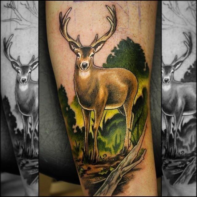 Hunting tattoo 20